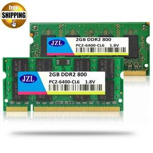 Память для ноутбука JZL, ОЗУ SODIMM PC2-6400 DDR2 800 МГц 200PIN 2 ГБ/PC2 6400 DDR 2 800 МГц 200 PIN 1,8 В CL6, ноутбук, компьютер SDRAM