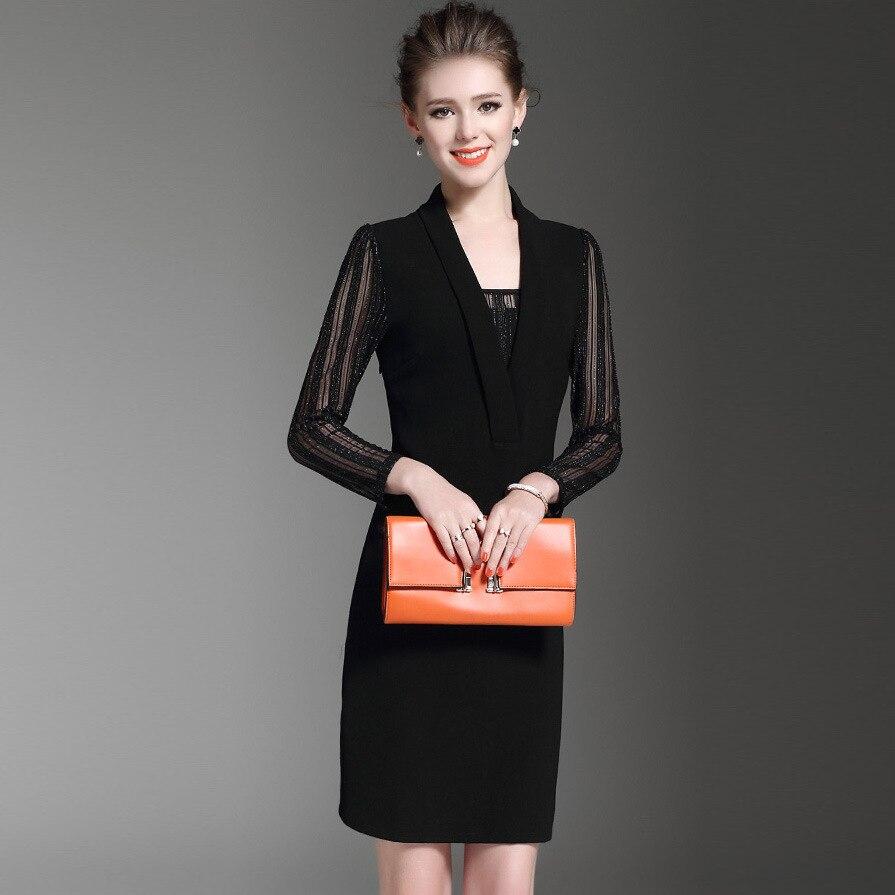 Black dress korean - Black Dress With Fake Korean