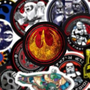 Image 4 - 50 Cái/bộ Mới Chiến Tranh Giữa Các Vì Sao Đồ Bộ Miếng Dán Kính Cường Lực Cho Hành Lý Laptop Decal Ván Trượt Xe Đạp Đàn Guitar Tủ Lạnh Xe Ô Tô Và Đề Can