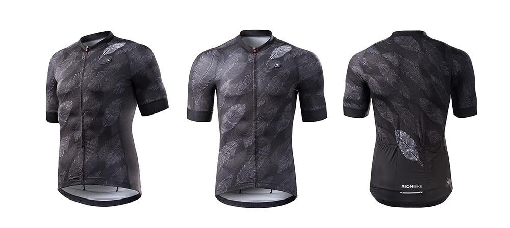 Rion camisa de ciclismo longo gel acolchoado