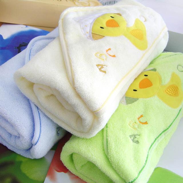 Infantil Toalla de Baño Del Bebé Recién Nacido 100% algodón de primavera y Verano mantas toallas bebé suave Lindo de la historieta con capucha toalla de baño albornoz AB055