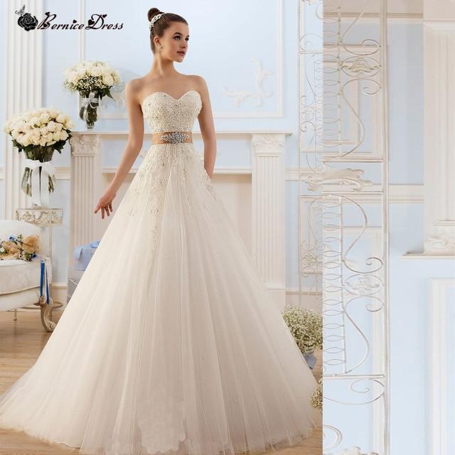 Estilo Simple Vintage Wedding Dresses Vernassa 2015 del cordón De ...