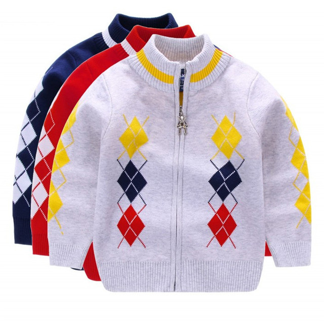 baby boy sweater 2018 kids clothes long sleeve boy knitted christmas sweater zipper kids turtlencek pullover