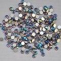 Smoked Topaz AB cor ss3, Ss4, Ss5, Ss6, Ss8, Ss10, Ss12, Ss16, Ss20, Ss30 cristal de volta plana não Hotfix Nail Art cola em strass