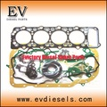 engine rebuild kit 4M40 4M40T engine parts piston ring cylinder liner bearing gasekt kit