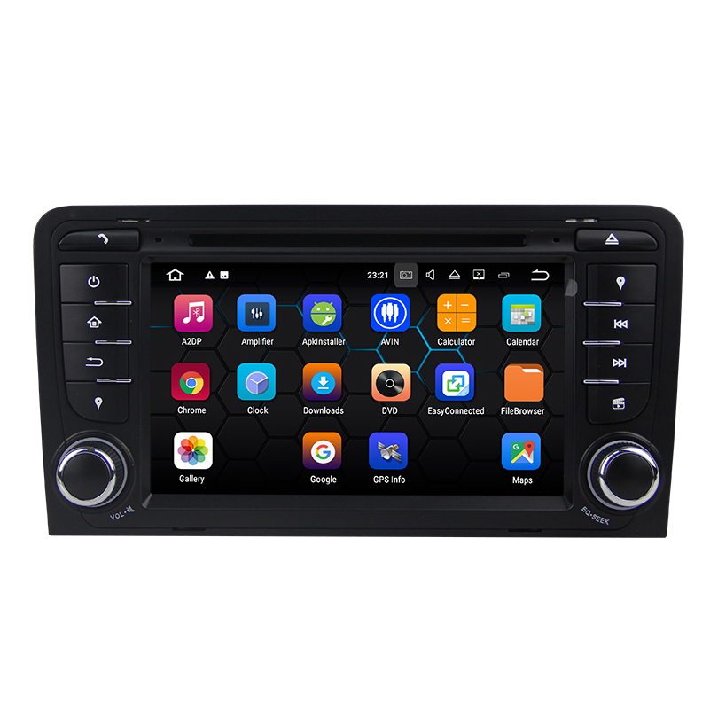 Android 7.1.2 System Car DVD Player for AUDI A3 (2003-2011) S3 RS3 RNSE-PU with GPS Navigation Car Multimedia Player