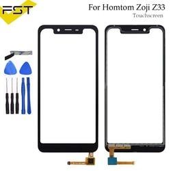 5.85 ''Black ekran dotykowy dla Homtom Zoji Z33 idealne części naprawa czujnik panelu dotykowego szklany obiektyw dla Zoji Z33 telefon + narzędzia w Panele dotykowe do telefonów komórkowych od Telefony komórkowe i telekomunikacja na