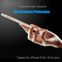 MOUSEMI For iPhone 6 Case Silicone Transparent 6S For iPhone Case Luxury TPU Coque Clear For iPhone 6 6s Plus Phone Cases Cover