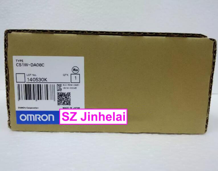 100% New and original  CS1W-DA041, CS1W-DA08C   OMRON    PLC [zob] 100% new original omron omron proximity switch e2e x10d1 n 2m