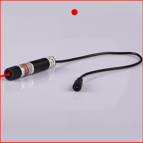ФОТО 80mW 650nm focusable DOT (Gauss beam) laser alignment with power adapter plug and use 16x70mm