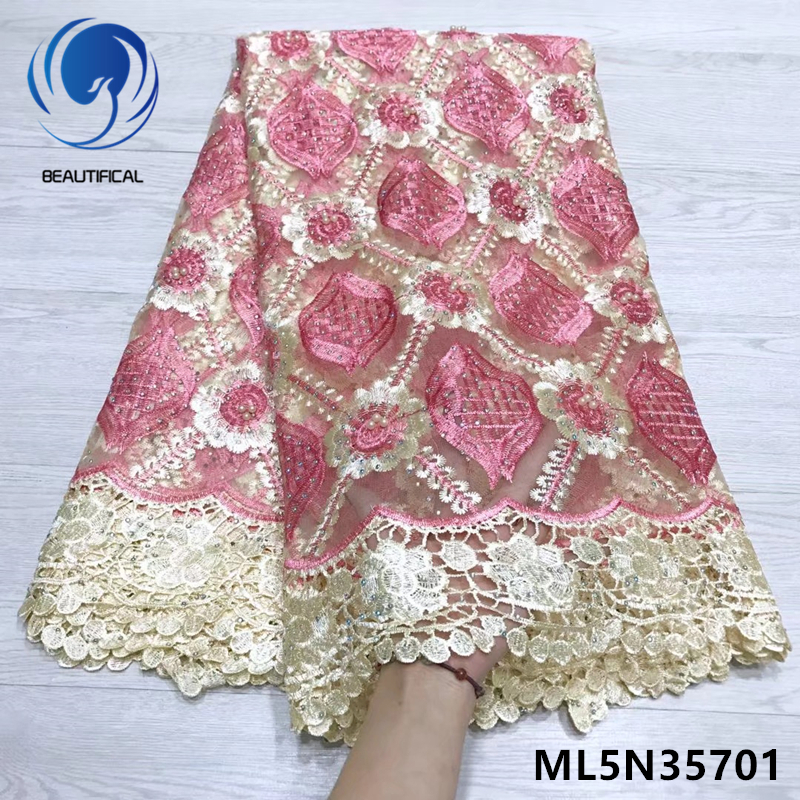 BEAUTIFICAL french nigerian laces fabrics mesh lace fabric african tulle lace 2019 latest 5 yards/lot hot selling ML5N357BEAUTIFICAL french nigerian laces fabrics mesh lace fabric african tulle lace 2019 latest 5 yards/lot hot selling ML5N357