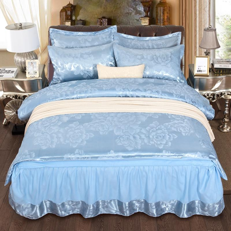 New  silky cotton 4 Pcs. Bedding Set. duvet cover-bedsheet-pillowcase.AB sidesNew  silky cotton 4 Pcs. Bedding Set. duvet cover-bedsheet-pillowcase.AB sides