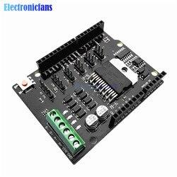 Replace L298P For Arduino UNO R3 MEGA2560 Dual Channel DC Motor Driver Shield Expansion Board L298NH Module Driving Module