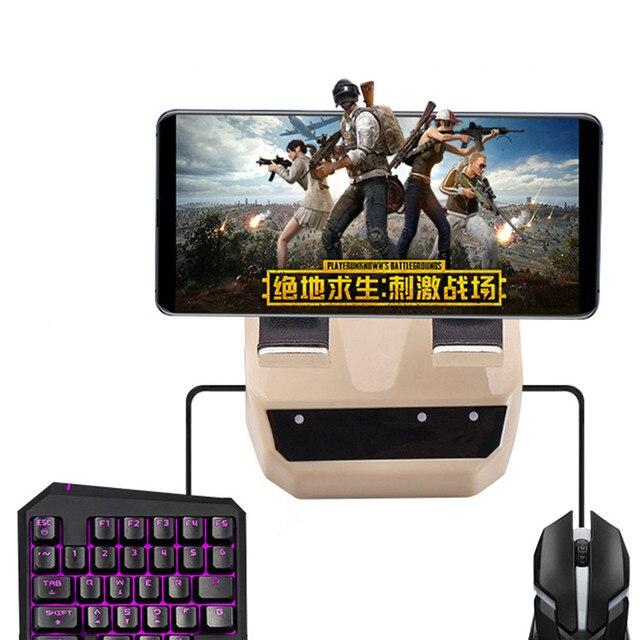 Battledock Bluetooth Keyboard Mouse Converter untuk iPhone Android IOS Ponsel Pemegang Pubg Permainan Controller PC Gaming Remote Konsol