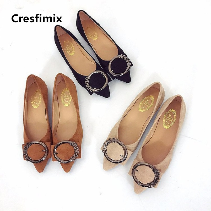 Cresfimix women sexy spring & summer party slip on flat shoes lady cute comfortable outside street shoes zapatos de mujer a2381 cresfimix chaussures pour femmes women cute spring slip on flat shoes with rubber bottom lady casual comfortable street shoes