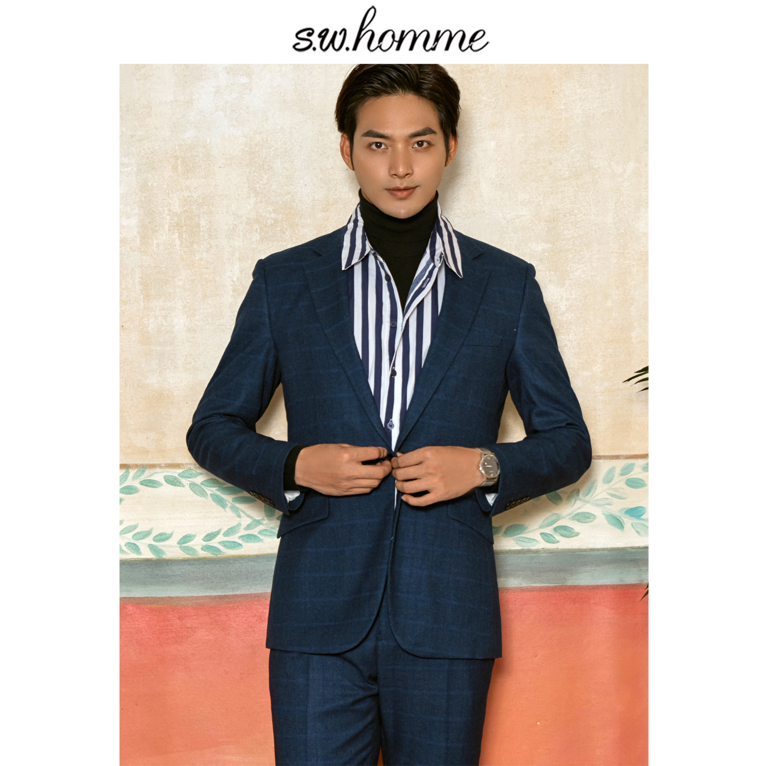 Open-Minded Oscn7 2019 3 Colour Plaid Korea Customize Suits Slim Fit Leisure Tailor Made Mens Suit S-wt-0913-40c S-wt-0913-40d S-wt-0913-40c To Rank First Among Similar Products Men's Clothing