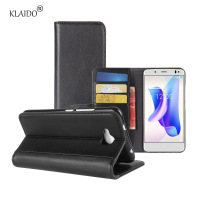 KLAIDO Genuine Leather Mobile Phone Case For BQ U2 U2 Lite Card Holder Mobile Phone Flip