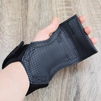 Bodybuilding Gloves for Men and Women Pull up Bench Press Cow leather Wrist Brace Hard Pull Power Belt