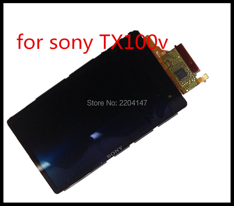 ФОТО FREE SHIPPING ! LCD Display Screen Repair Parts for SONY TX100 OLED Digital Camera With Backlight With touch