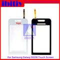 Высокое качество ДЛЯ SAMSUNG S5230 S 5230 Touch Screen Digitizer Датчик Переднее Стекло Объектива черно-Белый