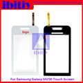 Highest quality FOR SAMSUNG S5230 S 5230 Touch Screen Digitizer Sensor Front Glass Lens Black and White