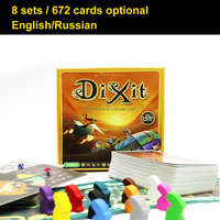 Dixit Board Game 8 Expansions 672 Cards Optional Mtg English Russian Card Game For Family Kids