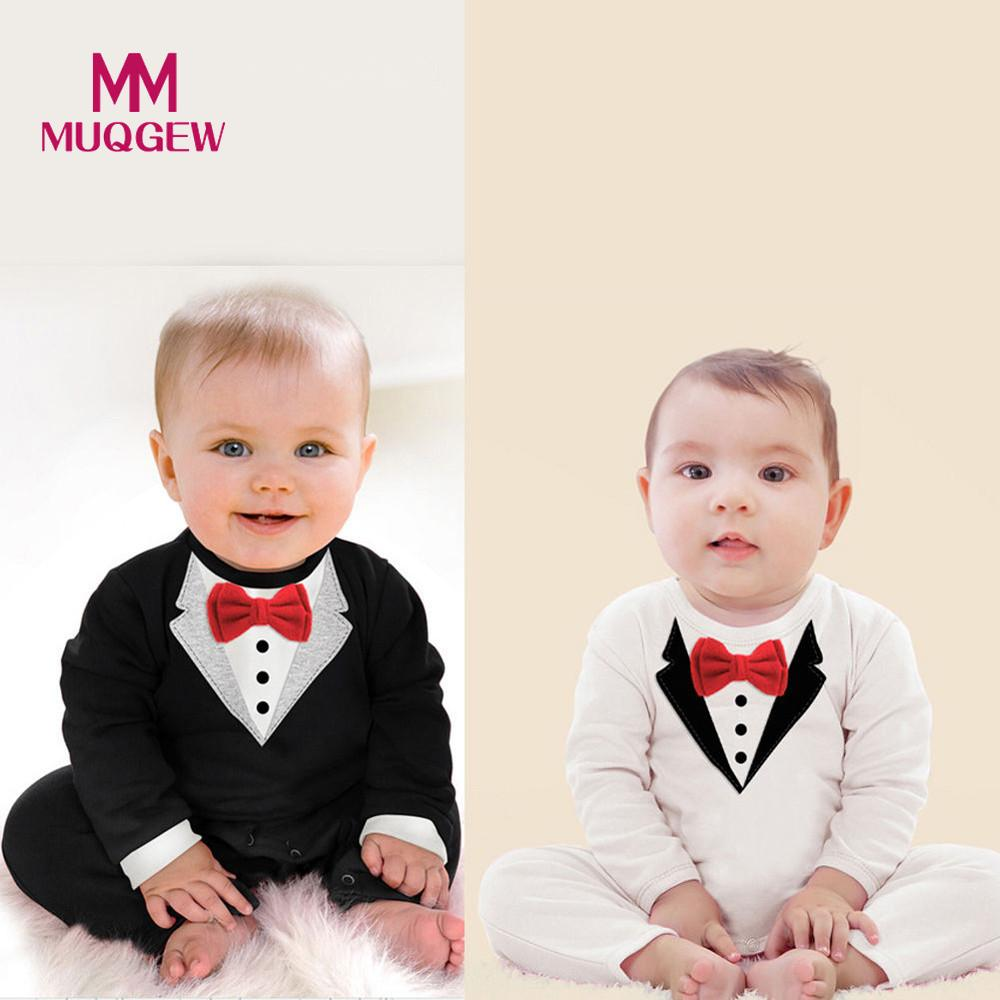 e36da9140 Big Deal MUQGEW Toddler Baby Rompers Autumn Roupas Infant Jumpsuits ...