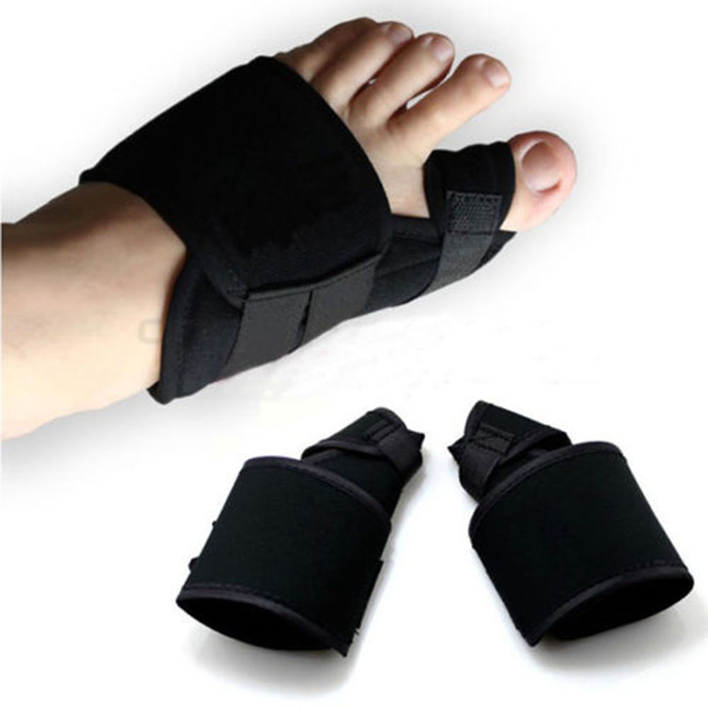 2pcs Soft Bunion Corrector Toe Separator Splint Correction System Medical Device Hallux Valgus Foot Care Pedicure Orthotics(China)