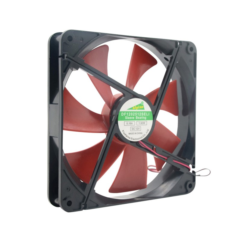 Silent Quiet 140mm PC Case Cooling Fans 14cm DC 12V 4D Plug Computer Cooler CPU Cooler 140*140mm Best For PC Case CPU Cooler