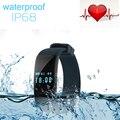 Diggro DFit D21 Smartband Mergulho À Prova D' Água Banda Inteligente Pulseira Saúde Monitor de Freqüência Cardíaca de Fitness Rastreador para Android e iOS K18
