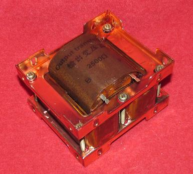 2PCS 2.5K: 4 ohm / 2.5k: 8 ohm / 2.5k: 16ohm / double C amorphous tube amp output transformer   USED стоимость