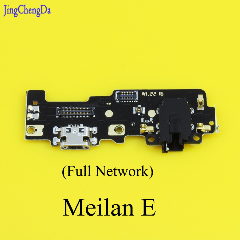 Jing Cheng Da Microphone USB Board Flex Cable Connector Parts For Meizu Meilan E Mobile Phone Charger Circuits Part Full Network