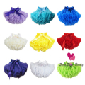 Baby Girls Princess Tutus Skirt Child Ballet Dance Tutus Ruffle Pettiskirt Dance Wear Party Clothes For Children
