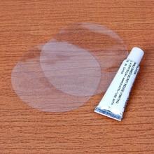 ПВХ прокол ремонт патч клей комплект клей для надувной игрушки бассейны поплавок надувная кровать лодки