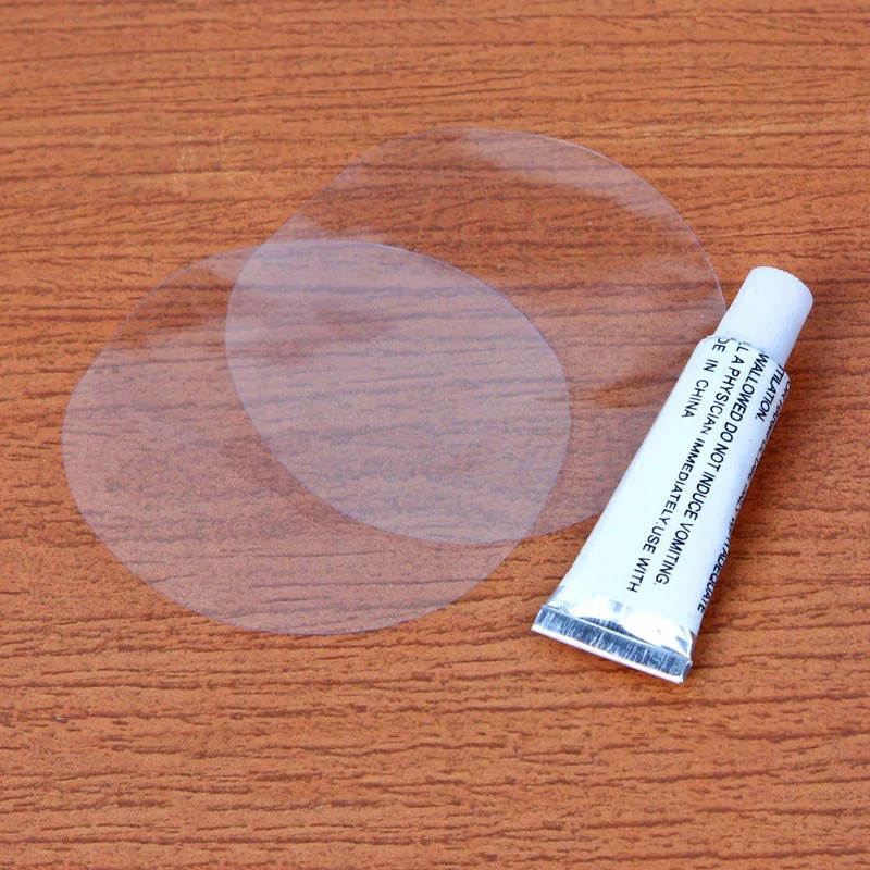 PVC Puncture Repair Patch Glue Kit Adhesive For Inflatable Toy Swimming Pools Float Air Bed Dinghies