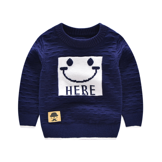 Cartoon Sweater Casual Infant Outfit Angora Pullover Tee Unisex Top Long Sleeve Outfits Infant Baby Sweaters Warm Baby Clothing