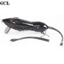 Custom 6inch 96G Wake Bait Mouse Swimbait Carbon Fiber Bill Jointed Rat Fishing Lures