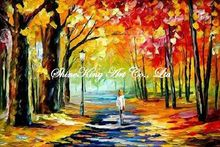 palette knife oil painting  modern oil painting canvas oil painting K238