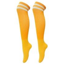 Брендовые футбольные Носки спортивные велосипедные носки мужские выше колена взрослый велосипед для кемпинга бег Рыбалка Хоккей регби чулок спортивные носки
