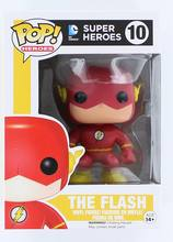 Nova Funko pop Oficial DC Universe Herói The Flash Clássico Figura de Ação de Super-heróis Boneca Collectible Toy Modelo com caixa Original(China)