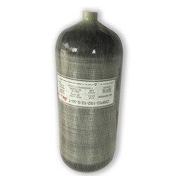 AC3120 Acecare 12L GB 4500psi de alta presión de cilindro de buceo de fibra de carbono Pcp tanque de Paintball para pistola de aire comprimido Rifle