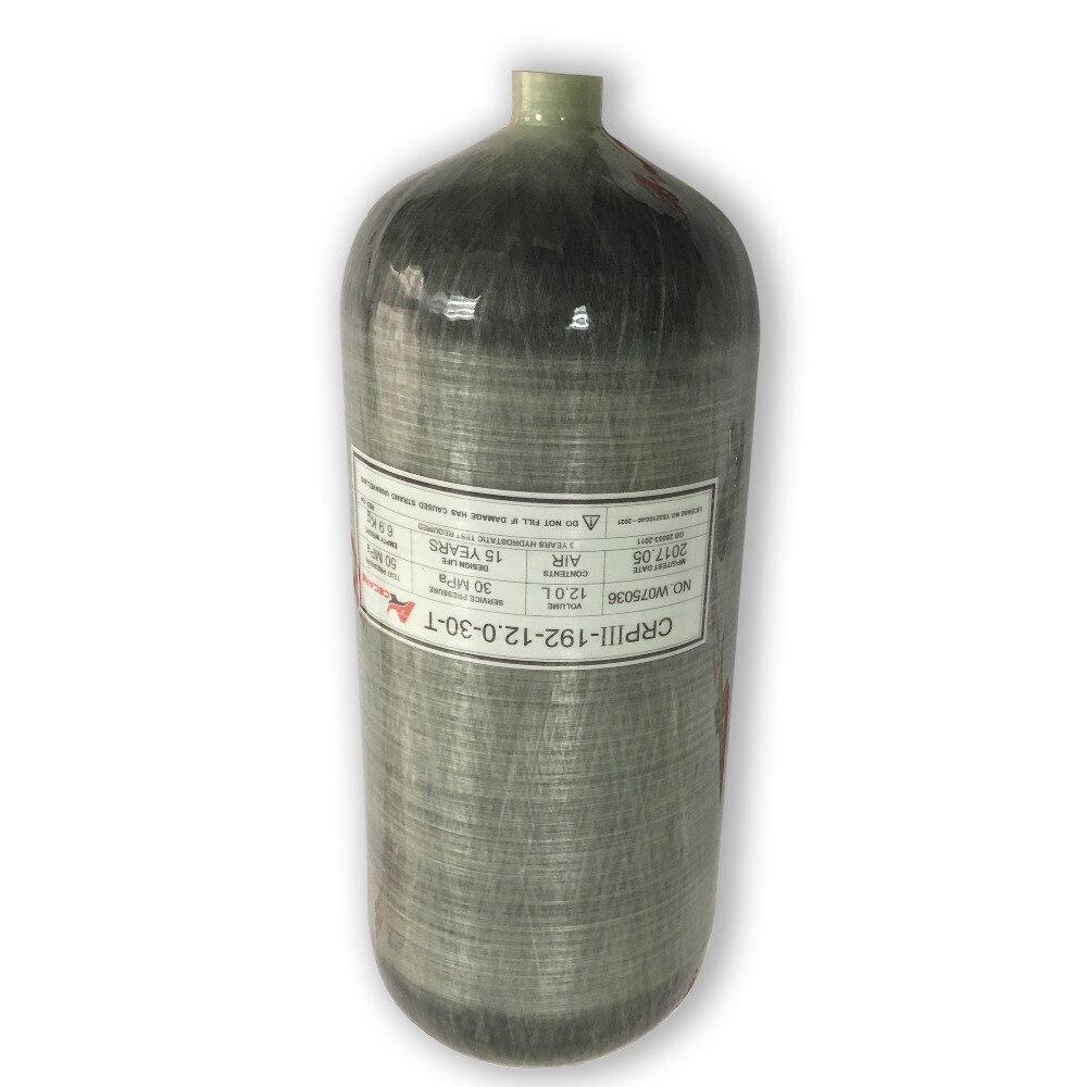 AC3120 paintball tank carbon pcp air rifle/carabina airgun rifle scuba air tanks 4500psi 300bar paintball pressure tank ACECARE