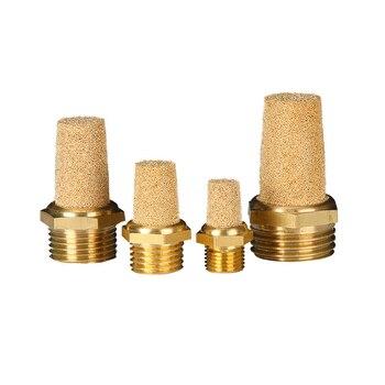 Pneumatic Brass Muffler M5 1/8