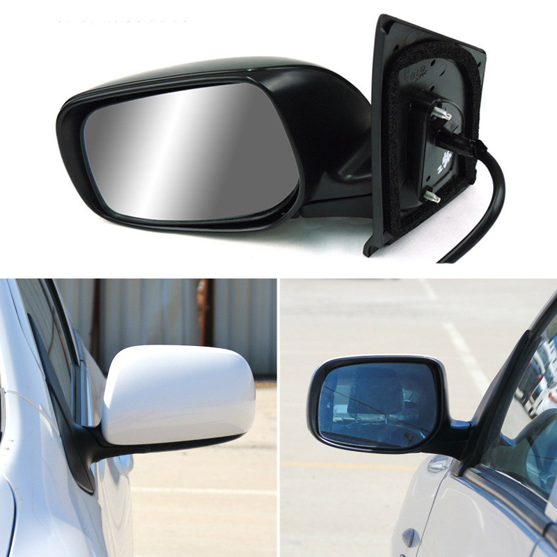 Texture Black Automatic Folding Power Heated Original Replacement Side View Mirror For Toyota Vios 2008 2013