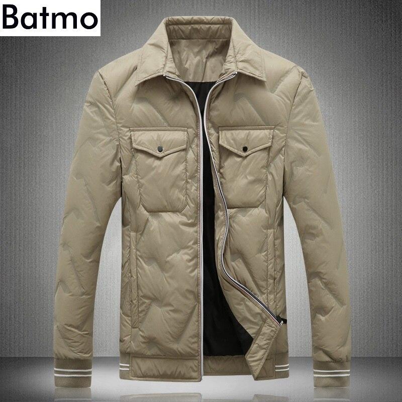 HommesHommes Hiver ManteauPlus 80Duvet Chaud black Haute Batmo Qualité Canard Vestes 9003 5xl Blanc 2018 Khaki M Kaki D'hiver Nouvelle De taille Arrivée QWeCBrxdo