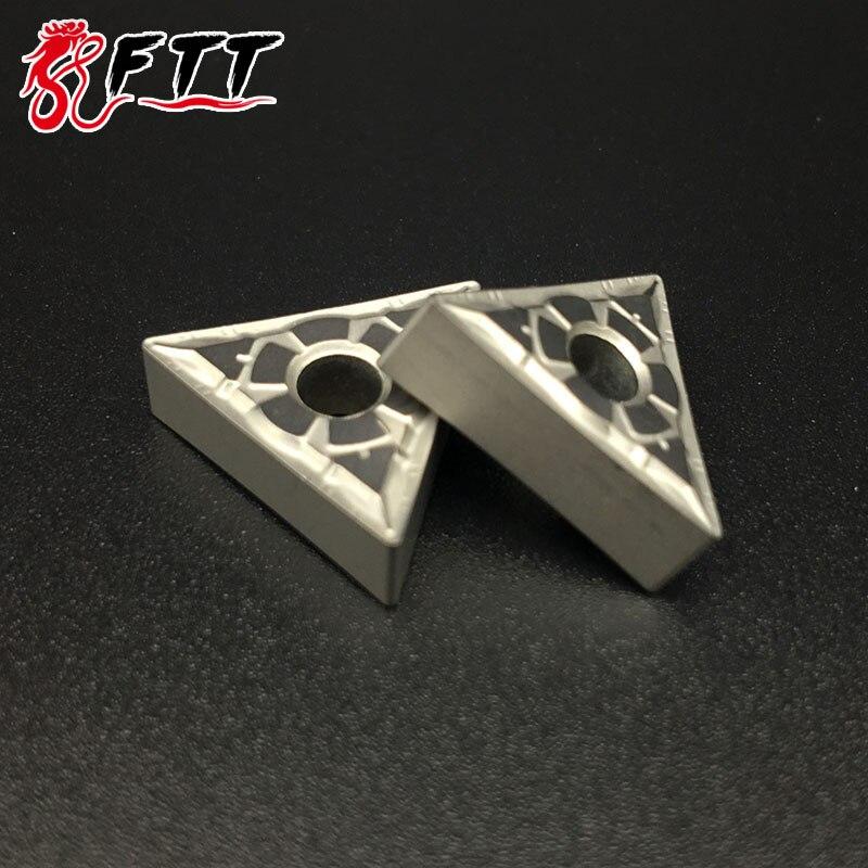 10PCS TNMG160404 FG CT3000 TNMG331 Cermet Grade Carbide ابزار - ماشین ابزار و لوازم جانبی