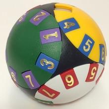 Интеллектуальный раздвижной магический шар IQ куб логический мудрый шар логическая головоломка Cubo magico Stickerless Прямая поставка