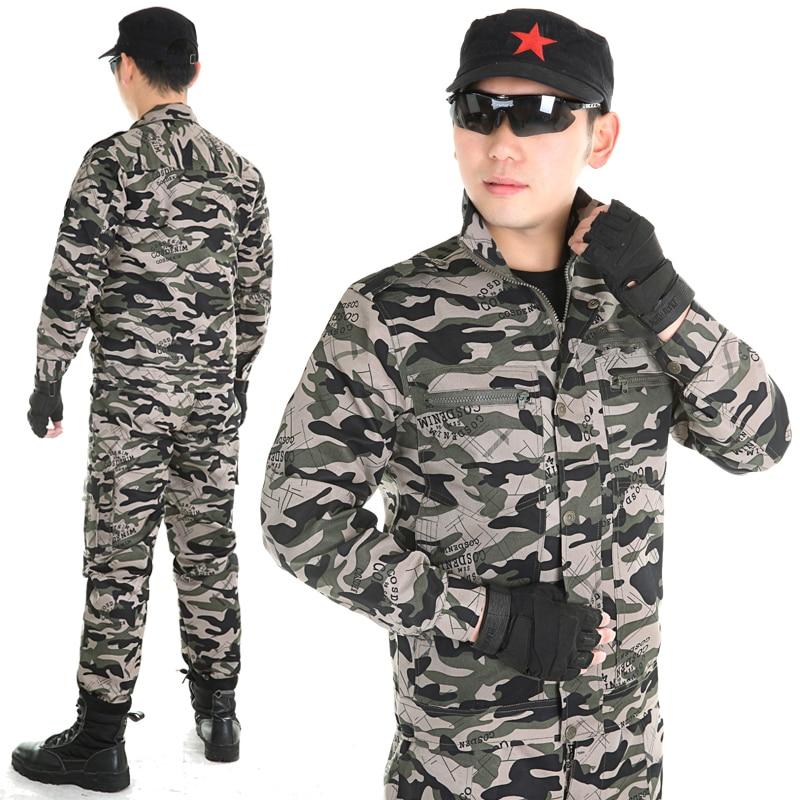 Мушко камуфлажно одијело Одјећа за лов за мушкарце Војна Унфиромс Мултицам тактичка одјећа Специјалне снаге Гхиллие одијела