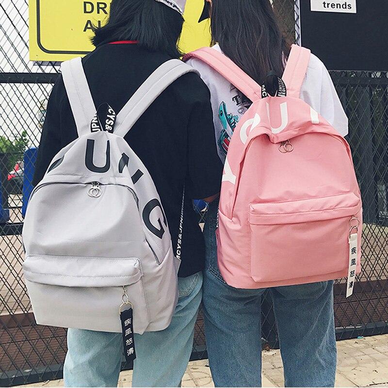 Girl High School Student Preppy Style School Bag Korean Harajuku Ulzzang Backpack Fresh Mori Girl Joker