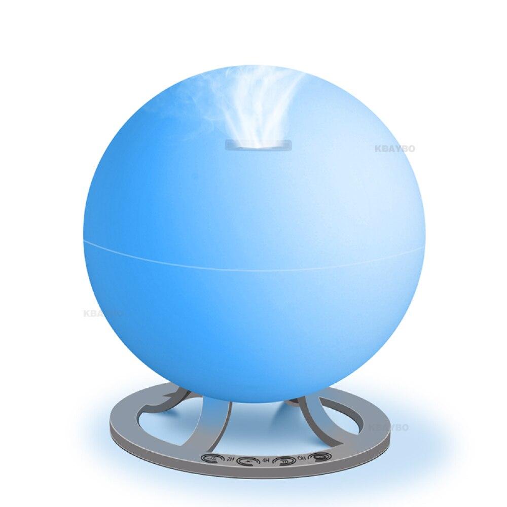 EJOAI 600ML arôme diffuseur d'huile essentielle humidificateur d'air à ultrasons aromathérapie purificateur d'air avec lumière LED pour le bureau à domicile